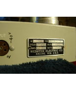 Webster Electric mono tube amplifier 6l6gc power transformer output transformer - $125.00