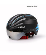 Cycling Bicycle Helmet With Googgles Lens Road ... - £44.38 GBP