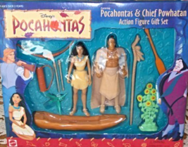Pocahontas & Chief Powhatan Action Figure Gift Set [Brand New] - $67.50
