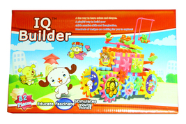 IQ BUILDER TOY SET - INTERLOCK LEARNING BLOCKS - $18.95