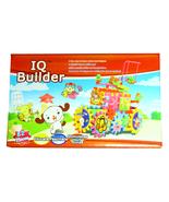 IQ BUILDER TOY SET - INTERLOCK LEARNING BLOCKS - $18.95