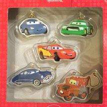 "Hallmark Disney ""Cars"" Set of 5 Holiday Christmas Ornaments [Brand New] - $31.81"