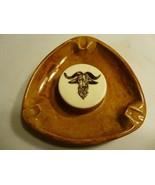 Vintage Steer Ox Porcelain Ashtray - $5.53
