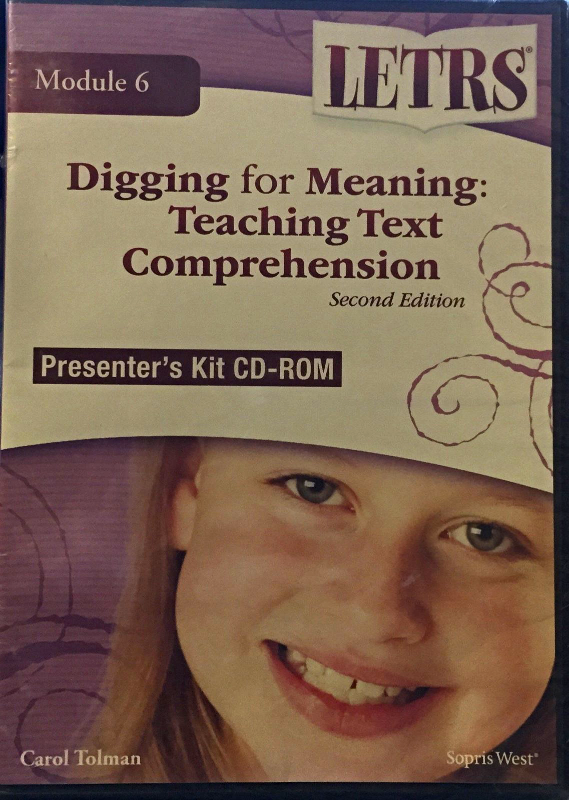 LETRS: Digging for Meaning: Teaching Text Comprehension [Brand New]