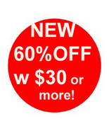 NEW! 60% OFF ALL ORDERS $30 OR MORE AUTOMATICAL... - $0.00