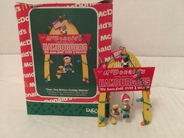 1990 McDonalds Over One Million Holiday Wishes Christmas Ornmanet Enesco in Box - $6.25
