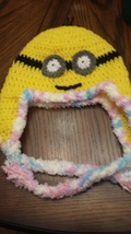 Minion Hats Hand Crafted Croched By LuvnTouch - $10.00