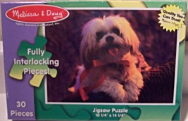 "30 Piece Jigsaw Puzzle ""Dog"" [Brand New] - $17.80"