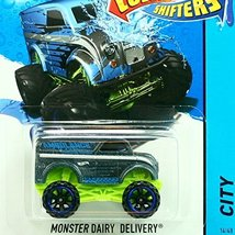 MONSTER DAIRY DELIVERY * COLOR SHIFTERS * Hot Wheels 1:64 [Brand New] - $16.36