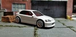2021 Custom Hot Wheels 1999 Honda Civic EK w/Real Riders Read Descriptio... - $16.99