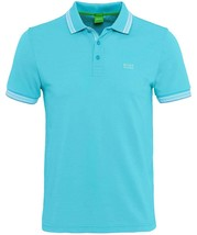 Hugo Boss Men's Regular Fit Paddy Pro Polo Shirt T-Shirt Blue 50302557 497