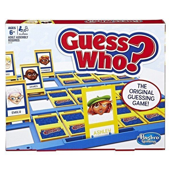 Primary image for Hasbro Classic Guess Who Board Game Try To Guess Kids Adults Family Fun NEW