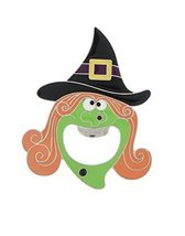 Ganz ~ Witch Head Bottle Opener, Orange/Green [Brand New] - $13.16