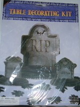 Halloween Table Decorating Kit-Tombstone-NIP - $10.00