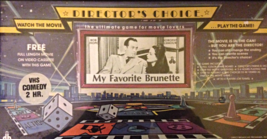 Director's Choice the Ultimate Game for Movie Lovers - My Favorite Brunette - $47.32