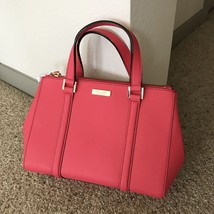 Kate Spade Newbury Lane Small Loden Leather Crossbody Bag Strawberry NWT - $178.19