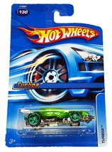 Hot Wheels ~ Turboa Green 1:64 Scale [Brand New] - $5.70