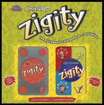 """Cranium """"Zigity"""" Collectible Tin ~ The Outrageous Card Game Of Crazy Twists - $23.23"""
