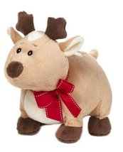 "Tan ""Rennie the Reindeer"" Holiday Plush [Brand New] - $19.74"
