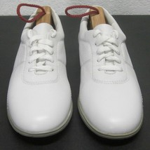 Easy Spirit MOVE-ON Women's (7 N) Glove Soft White Leather Athletic Sneakers Euc - $42.31