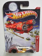 LIMITED EDITION HOT WHEELS HOLIDAY HOT RODS HAMMERED COUPE #4/8 - $9.09