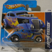 Hot Wheels Heat Fleet '11 7/10 Pass'n Gasser on Short Card [Brand New] - $11.79