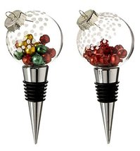 Ganz Wine Bottle Stopper Ornament Set of 2 [Brand New] - $22.72
