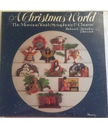 A Christmas World [Vinyl LP, Brand New] The Mormon Youth Symphony & Chorus - $67.81