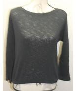 Zara Trafaluc Women Cable Knit Balck Sweater Blouse Long Sleeve Medium C... - $19.17