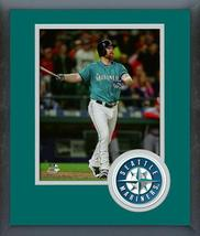 Adam Lind 2016 Seattle Mariners - 11 x 14 Team Logo Matted/Framed Photo - $42.95