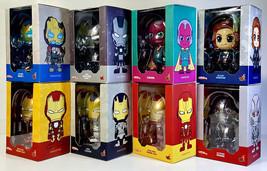 HOT TOYS COSBABY IronMan War Machine Ultron Black Widow Avengers AoU Lot... - $149.99