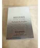 BOUCHERON PARFUMS DE JOAILLIER MEN 3.3 OZ EDT SPRAY NIB****COLLECTORS *** - $42.75