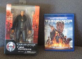 NECA Reel Toys Terminator Genisys T-800 Guardian Action Figure & Genisys... - $27.86
