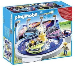 Playmobil 5554 Spinning Spaceship Ride with Lights Building Set - $87.12