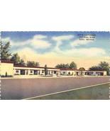 Jay's Cottages Motel Elko Nevada linen postcard - $6.44