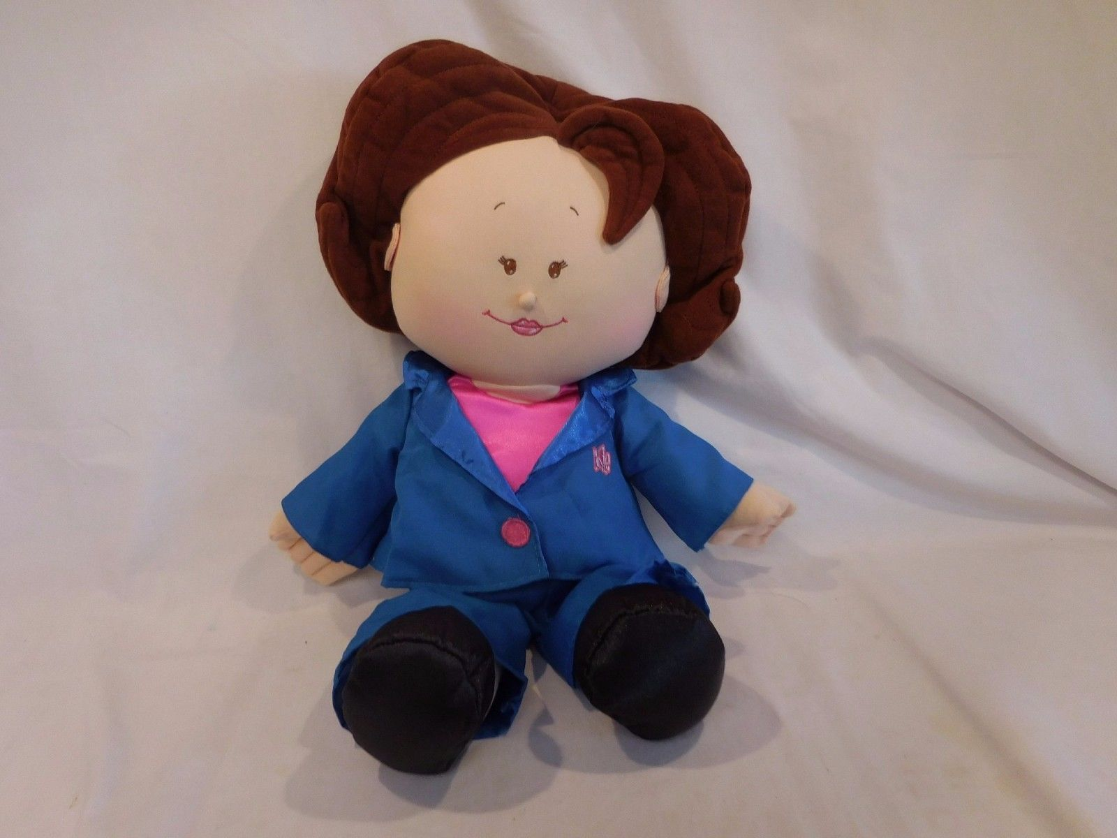 Rosie O Donnell O Doll Talking Plush Soft Toy Tyco 1997 Comedian Actress TV Show