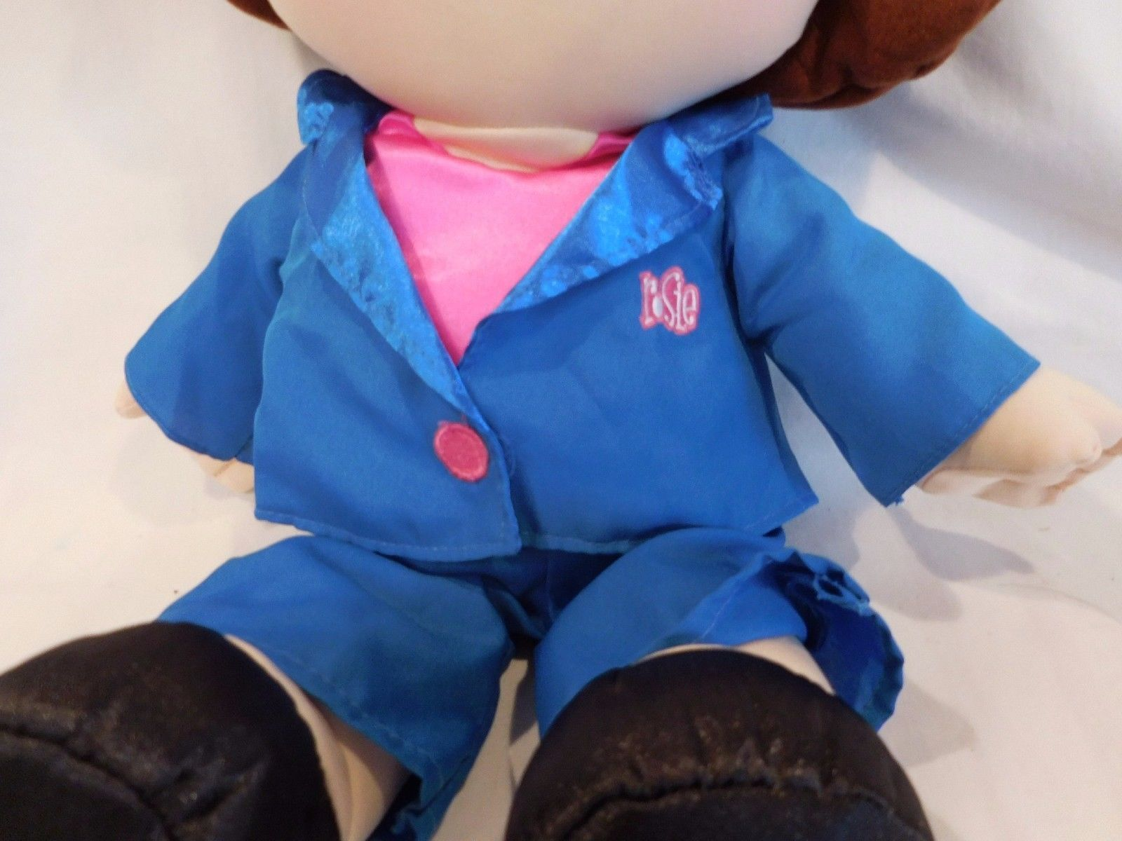 Rosie O Donnell O Doll Talking Plush Soft Toy Tyco 1997 Comedian Actress TV Show image 3