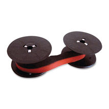 Canon CP-1204D CP-1208 CP-1210 Calculator Ribbon Black and Red (3 Pack)