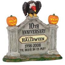 Department 56 ~ Snow Village Halloween 10th Anniversary Sign ~ #805026 ~... - ₨987.64 INR
