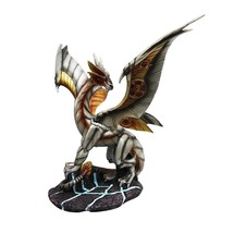 "11.75"" Height Standing Steampunk Dragon Fantasy Figurine Decor - $48.00"