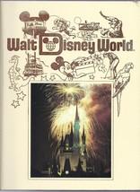 1989 Walt Disney World Pictorial Sovuiner Hardback book OOP - $79.48