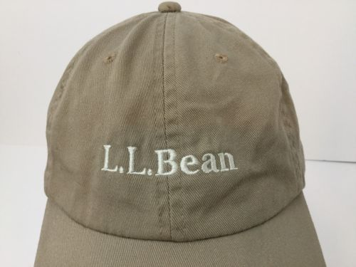 78794ee1820c0 LL Bean Khaki Pathfinder Head Lamp LED Light Hat Cap Night Hiking Strapback
