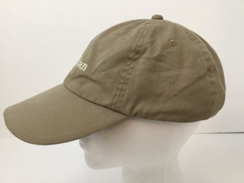0920f1c5b8347 LL Bean Khaki Pathfinder Head Lamp LED Light Hat Cap Night Hiking Strapback