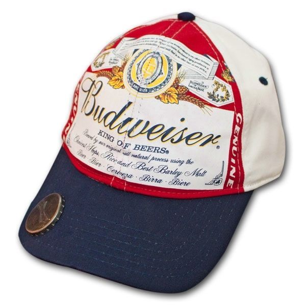 95f3c2112 BUDWEISER® Beer Men's White Navy and 23 similar items