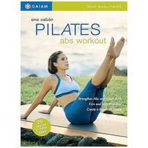 An item in the Sporting Goods category: Pilates ABS Workout: Mind Body Health [DVD ~ Brand New] Ana Coban
