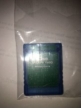 Genuino Sony PS2 PLAYSTATION 2 8MB Memory Card Magicgate - $10.37 CAD
