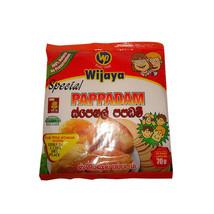 Wijaya Special Papadam 70g Sri Lankan - Free Shipping - $5.45+