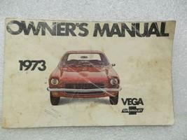 1973 VEGA Owners Manual 16013 - $18.76