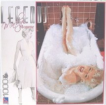 "1000 Piece Puzzle Marilyn Monroe ""Marilyn Taking a Bubble Bath in the Tu... - $48.41"
