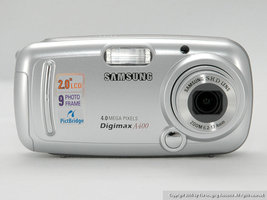 Samsung Digimax A400 4.0 MP Digital Camera - $22.99